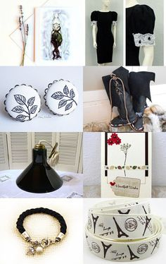black an white by Andrea on Etsy--Pinned with TreasuryPin.com