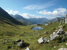 Blick auf den Monzabonsee #Lech #Arlberg #Rüfikopf #Sommer #Wandern #hiking