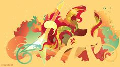 Sunset Shimmer Silhouette Wall by ~SpaceKitty on deviantART