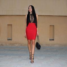 LAURA BADURA FASHION & BEAUTY: Lace Up Trend