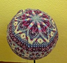 A beautiful, colourful Fair Isle Hat, knitted in the round and great for using u. : A beautiful, colourful Fair Isle Hat, knitted in the round and great for using up leftover scraps of 4 ply yarn. Crochet Mittens Free Pattern, Fair Isle Knitting Patterns, Fair Isle Pattern, Knit Patterns, Stitch Patterns, Loom Knitting, Knitting Socks, Free Knitting, Knitted Hats