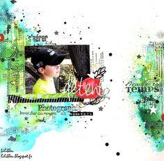 Tournoi Scrapboo'Kit - By Lilibleu  http://lilibleu.blogspot.fr/2017/04/page-detente-challenge-2-tournoi.html