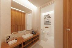 Bathroom Bathroom, Decor, Lighted Bathroom Mirror, Home, Bathtub, Mirror, Bathroom Lighting, Bathroom Mirror, Home Decor