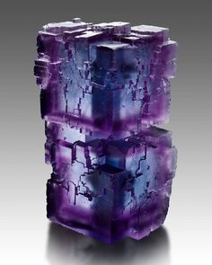 ⚒ STUNNING Fluorite specimen! |#Geology Locality: Rosiclare, Denton Mine, Illinois *Photo : © mineral-forum... See More