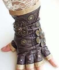deviantart lacy steampunk glove