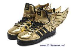 Adidas X Jeremy Scott Wings 2.0 Shoes Gold Online