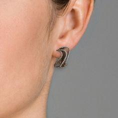 Boucles d'oreilles Alfieri & St. John  Collection AJ Onde