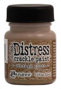 RANGER: TIM HOLTZ - DISTRESS CRACKLE PAINT -VINTAGE PHOTO   http://www.kreativscrapping.no/categories/tim-holtz-distress-crackle-paint