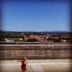 ❤❤❤❤#avignone#france#holiday #picoftheday #lovesdomus#panorama#blu#cielo
