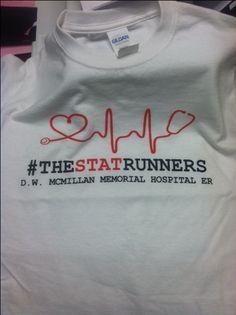 5K Shirts for ER Staff