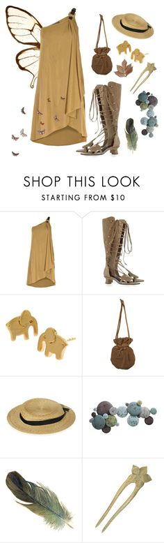 """""""Earth Fairy"""" by lenajfam ❤ liked on Polyvore featuring Alexander McQueen, Marni, Marc Jacobs, Moe's Home Collection and Bliss Studio"""
