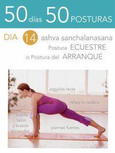 50 días 50 posturas. Día 14. Postura ecuestre