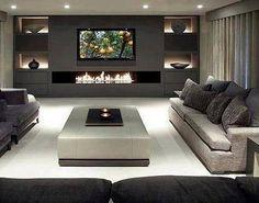 Earthy toned livingroom