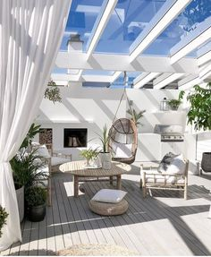 Picking the Perfect Outdoor Patio Decoration – Outdoor Patio Decor Inspire Me Home Decor, Gazebos, Outdoor Rooms, Outdoor Decor, Outdoor Retreat, Outdoor Areas, Patio Interior, Interior Design, Backyard Patio Designs