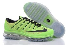 brand new 4a1e7 13d4f Nike Air Max 2016 Mens Running shoes 806771-300 fluorescent green