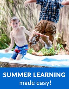 Summer Learning Made Easy - Great resources to get you through the summer!