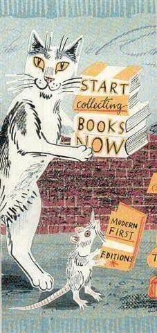 Start collecting books now!  [Poster from the 2011 York National Book Fair.]