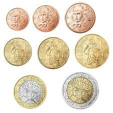 Alle euromunten - Euromunten en biljetten Euro Coins, Personalized Items, Collage, Coins, France, Pictures, Countries, Collages, Collage Art
