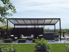 1000 ideas about pergola alu on pinterest pergolas pergola bioclimatique and porch roof for Pergola design alu
