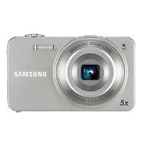 Samsung EC-ST90ZZBPSUS Digital Camera with 14.2 MP and 5x Optical Zoom Silver .