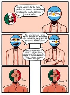 from the story 💕 Cómics e imágenes CountryHumans 💕 by (Daiana. Hetalia, Humans Meme, Wattpad, Mundo Comic, Country Art, South Park, Countries Of The World, Anime Love, Reading