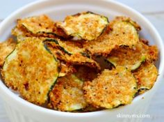 oven baked zuchinni chips