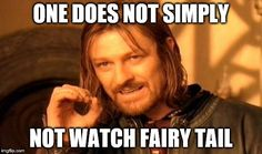 Fairy tail one does not simply