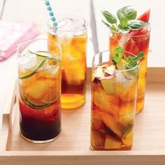 Enjoy a great tasting energy drink….hold the chemicals!! Try out this simple recipe: Make a gallon of iced tea mix using 2-3 green, white and yerba mate tea bags. Add in a little stevia or hibiscus tea bags to sweeten the mix. Now take half a glass of the iced tea mix and combine with half a glass of coconut water and you have yourself a glass of delicious vitality. A little jolt of energy, antioxidants, electrolytes, vitamins and minerals along with some medium chain triglycerides.