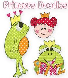 Princess Doodles