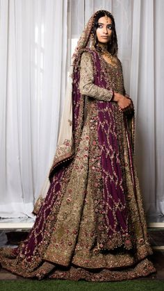 Most up-to-date Photo Fahad Hussayn Bridal Dresses 2019 - PK Vogue . Tips Lovely Wedding Dresses ! The current wedding dresses 2019 consists of twelve various dresses in the Asian Bridal Dresses, Desi Wedding Dresses, Asian Wedding Dress, Pakistani Wedding Outfits, Bridal Outfits, Bridal Gowns, Asian Bridal Wear, Indian Bridal Lehenga, Pakistani Wedding Dresses