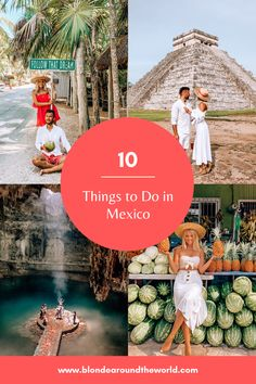 10 Things to do in Mexico Stuff To Do, Things To Do, Travel Blog, Never Stop Exploring, Cozumel, Mexico Travel, Wanderlust Travel, Amazing Destinations, Tulum