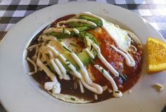 Huevos rancheros from Stepping Stone Cafe in NW Portland. Check out our review.  Stepping Stone Restaurant Review | MagoGuide: A Guide for Travelers