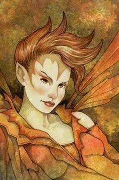 Linda Ravenscroft - Fire Sprite
