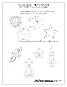 Cosmos, Worksheets, Solar, Autism, Universe, Simple Lines, Literacy Centers, Space, Countertops