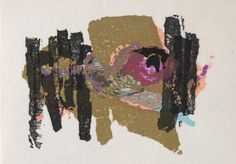 Lyric Kyoto, Rikio Takahashi, 1964 Cleveland Museum Of Art, Kyoto, Moose Art, Lyrics, Collage, Map, Artist, Prints, Painting