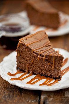 Coffee Chocolate Cheesecake