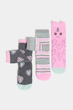 Maison Chic Pink Eyelet Ruffle Bunny Socks  0-6 Months