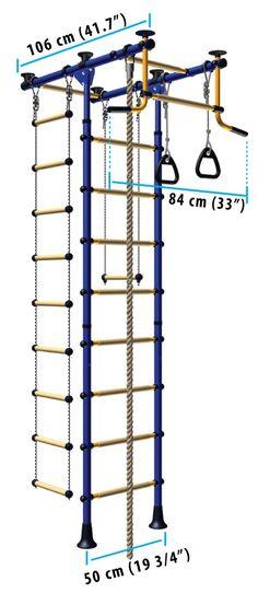 LimiKids - indoor play structures catalog model Comet 2.XX