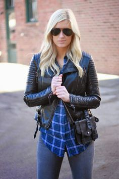 Sheinside Plaid Shirt #KatalinaGirl #blogger