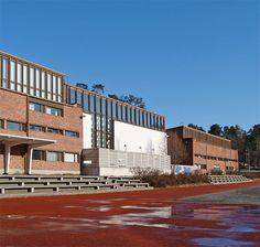Alvar Aalto - University of Jyväskylä Gymnasiums and Swimming Hall