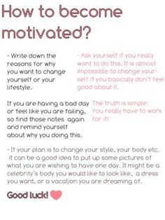 Need A Little Motivation? : theBERRY