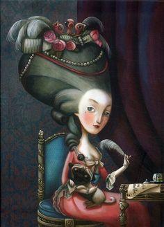 Marie Antoinette by Benjamin Lacombe…