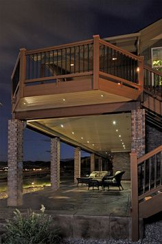 Very cool deck lighting for the home pinterest decking deck light kits outdoor low voltage led lighting the perfect recessed led for decks patios landscape l aloadofball Images