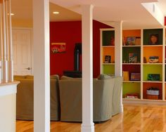 simple column treatment    Basement +renovation +basement Design, Pictures, Remodel, Decor and Ideas - page 2