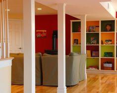 simple column treatment    Basement +renovation +basement Design, Pictures, Remodel, Decor and Ideas - page 2