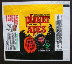 Planet of the apes trading cards (Vintage)