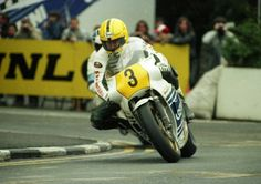 On-Board Joey Dunlop's Honda RS850R at the 1983 IOMTT