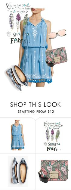 """dress"" by masayuki4499 on Polyvore featuring Parker Beach, Talbots and Furla"
