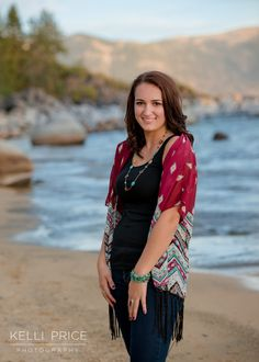 Kelli Price Photography | High School Senior Session at Lake Tahoe, California | www.KelliPricePhotography.com | Class of 2016