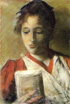 Reader. Giovanni Fattori (Italian, 1825-1908). In 1859 Fattori became a member of the Macchiaioli, a group of Tuscan painters whose methods and aims are somewhat similar to those of the Impressionists, of which they are considered forerunners. Like their French counterparts, they were criticized for their paintings' lack of decorative qualities and conventional finish, although the Macchiaioli did not go as far as the Impressionists did in dissolving form in light.